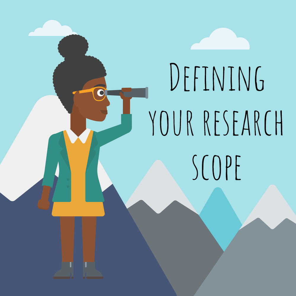 scope of dissertation The scope identifies the boundaries of the study in term of subjects, objectives, facilities, area, time frame, and the issues to which the research is focused sample phrases that help express the scope of the study:.